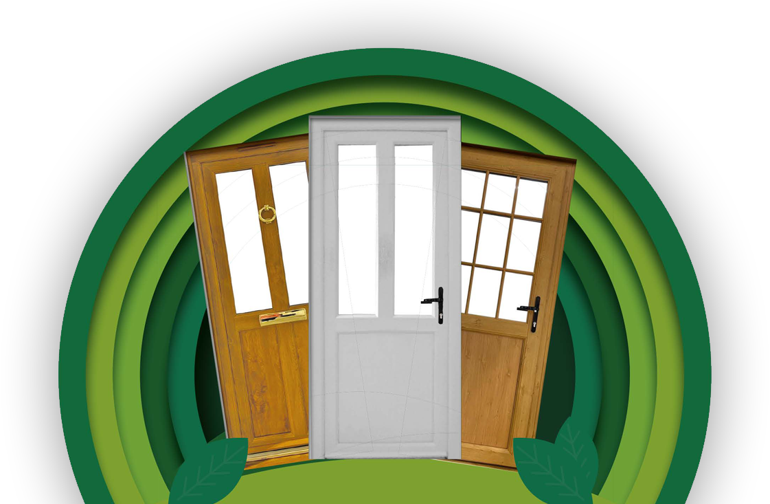 Free energy efficient door when purchasing windows*