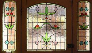 Door stained glass