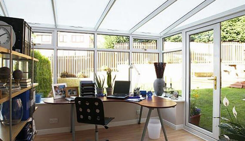 Turn Your Conservatory Into An Office Seh Bac