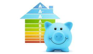 High energy efficiency saves you money