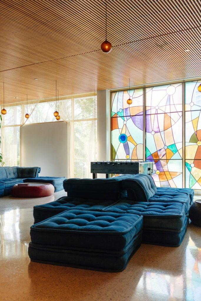 Stylish art deco 1930s interior.