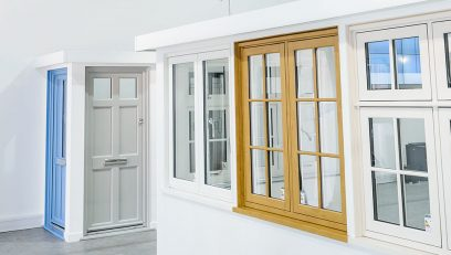 Colchester showroom range of windows