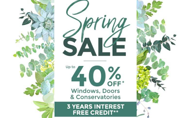 40% off Spring Sale offer