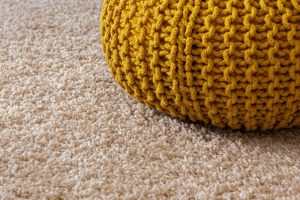 Soft carpet in conservatory setting