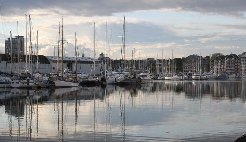 Ipswich port and dock