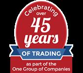 Celebrating 45 Years of trading