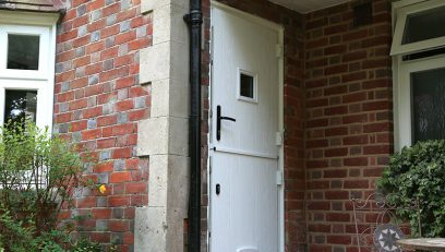 White heritage stable door