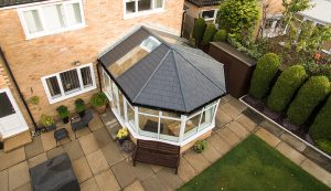 Tiled roof Victorian conservatory