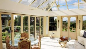 Cream Loggia conservatory interior view
