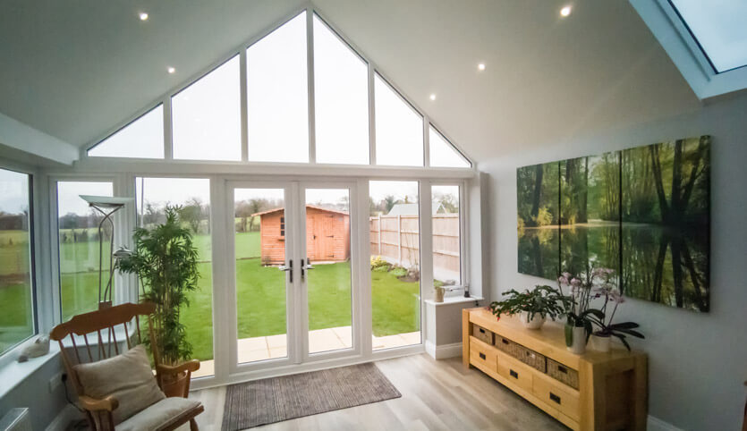 Gable Ultraroof conservatory