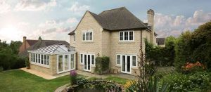 Large stone house with new double glazing