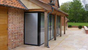 Integral blinds in Bi-Fold doors
