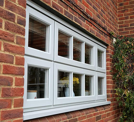 Grey Casement Window