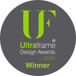 Ultraframe Design Awards Winner 2020